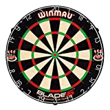 Winmau Blade 5 Bristle Dartboard with All-New Thinner...