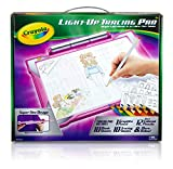 Crayola Light-Up Tracing Pad Pink, Coloring Board For Kids, Easter Gift, Toys for Girls, Ages 6, 7, 8, 9, 10
