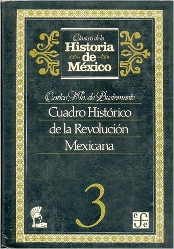 Portada del libro Cuadro histórico de la Revolución Mexicana