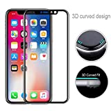 EraseSIZE iPhone Xs/XS Max/XR Screen Protector Glass, Full Tempered Glass Transparent Screen Protect for iPhone Xs/Xs Max/XR, Screen Protector Replacement Warranty (Clear, iPhone Xs Max 6.5 inch)