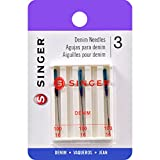Singer 2108 Denim Machine Needles, Size 100/16, 3-Pack