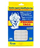 Jewelry Price Tags - Rectangle White (Package of 1000)