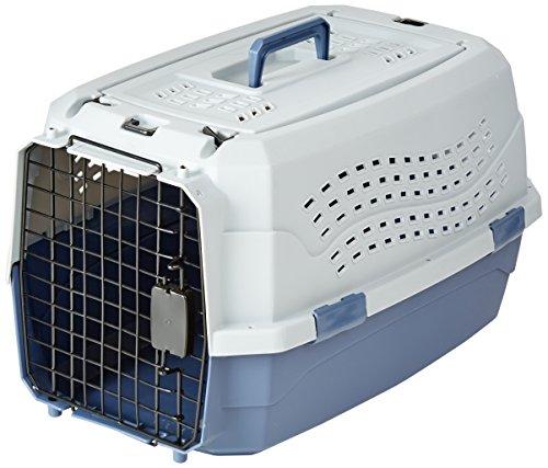 AmazonBasics 23-Inch Two-Door Top-Load Pet Kennel