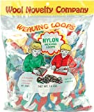 Wool Novelty Nylon Weaving Loops, 16-Ounce, Assorted Colors