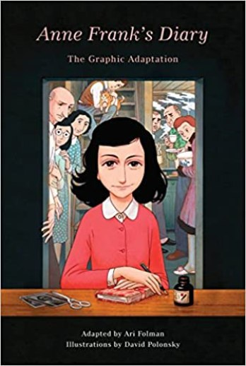 Image result for Anne Frank's Diary: The Graphic Adaptation