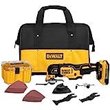 DEWALT 20V MAX XR Oscillating Tool Kit, Brushless, 28 Pieces (DCS355D1)