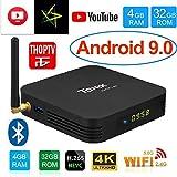 SreeTeK Android Box Tanix TX6 4GB RAM 32GB Android Box for TV, JIO TV HotStar Netflix YouTube Miracast & More, 2.4G/5GHz Dual WiFi BT Smart Android TV Box 4K