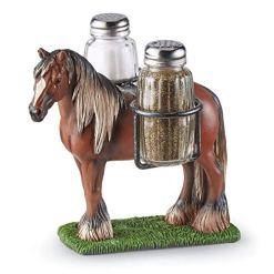 Standing Horse Salt Pepper Set