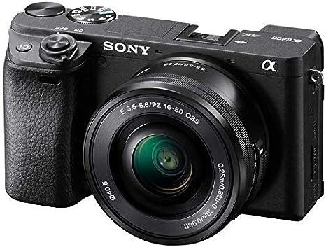 Sony Alpha ILCE-6400 Appareil Photo Numérique Hybride 4K Autofocus Ultra-Rapide type E capteur APS-C objectif 16-50 mm