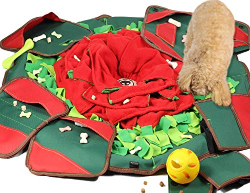SNiFFiz SmellyMatty Snuffle Mat for Dogs - Interactive Food Puzzle Toys Package...