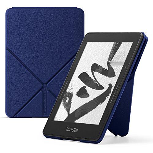 Amazon Kindle Voyage Leather Origami Case, Blue