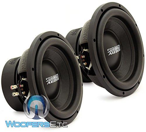 PAIR OF E-10 V.3 D4 - Sundown Audio 10' 500W RMS Dual 4-Ohm EV.3 Series Subwoofers