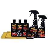 Meguiar's Motorcycle Care Kit - Package for Motorcycle Cleaning and Detailing - G55033