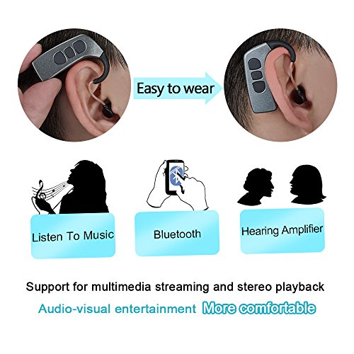 Hearing Amplifier With Bluetooth