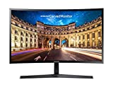 Samsung LC27F396FHNXZA Curved Monitor, Black, 27in (Renewed)