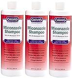 Davis Veterinary Miconazole Pet Shampoo, 12-Ounce Multi Pack, with Bonus Health Tracker (2 Pack)