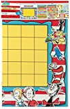 Eureka Classroom Supplies Back to School Dr. Seuss Teacher Calendar Bulletin Board Set, 122 pcs