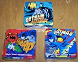Set of 3 Batman Magic Pop Up Towel Wash Cloth - varied
