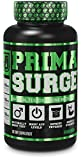 PRIMASURGE Natural Testosterone Booster Supplement for Men - Supports Lean Muscle Growth, Strength, Energy, & Fat Loss - Premium Cutting-Edge Ingredients - 60 Veggie Pills