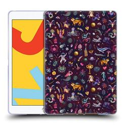 5197QB35xOL - Official Oilikki Nirvana Assorted Designs Soft Gel Case Compatible for iPad 10.2 (2019)