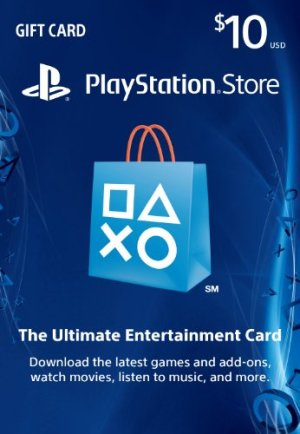 PlayStation Store Gift Card Twister Parent