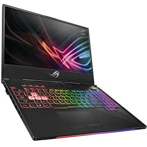 "ROG Strix SCAR II Gaming Laptop, GL504 15.6"" 144Hz IPS-Type Slim Bezel Display, GeForce GTX 1070 8GB, Intel Core i7-8750H Processor (up to 3.9GHz), 256GB PCIe SSD + 1TB SSHD, 16GB DDR4, RGB Keyboard"