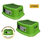 dbHOME 2 Pack Kids Step Stool - Great for Potty Training Step Stool for Kitchen,Bathroom,Toliet,Living Room Both Boys and Girls