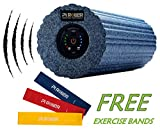 Pi ROLLER 4 Speed Vibrating Foam Roller,High Intensity Vibration for Recovery, Electric Fitness Yoga Rollers, Pliability Training, Deep Tissue Massage for Exercise and Muscle Relax