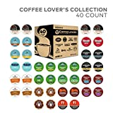 Keurig Coffee Lovers' Collection Sampler Pack, Single Serve K-Cup Pods, Compatible with all Keurig 1.0/Classic, 2.0 and K-Café Coffee Makers, Variety Pack, 40 Count