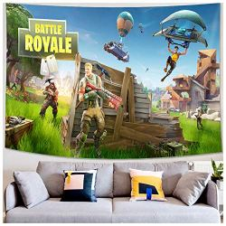 Wall Tapestry – Video Game Party Supplies Decoration – Wall Hanging Beach Blanket Tablecloth Backdrop Handicrafts Polyester Fabric – Tabletop Buffet Home Bedroom Living Room Dorm Wall Decor 59X90 inch
