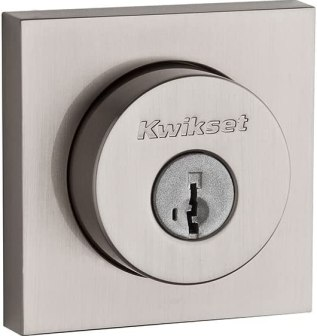 The Kwikset Halifax Slim is our best budget lock