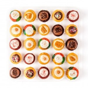 Baked by Melissa Cupcakes The OMGF (Oh My Gluten Free) – Assorted Bite-Size Cupcakes, 25 Count 519KvyDBRWL