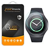 (3 Pack) Supershieldz for Samsung Gear S2 and Gear S2 Classic Tempered Glass Screen Protector, Anti Scratch, Bubble Free