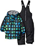 Wippette Baby Boys and Toddler Insulated Snowsuit, Buffalo Black, 4T