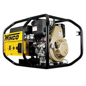 5.1KW Winco Portable Generator W6010DE/I 120/240V, 1-PH, 50/25A 3600RPM – 24006-004