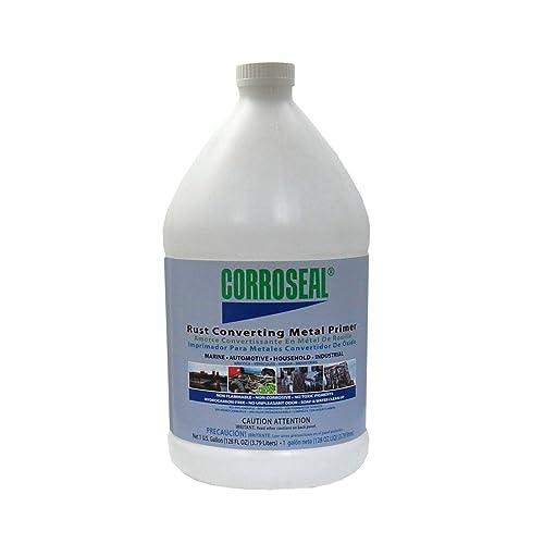 Corroseal Water-Based Rust Converter Metal Primer, Gallon, 82331