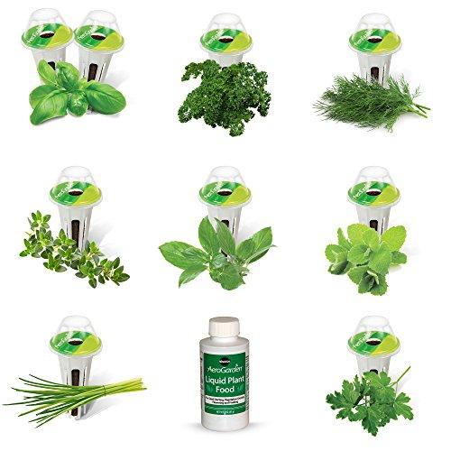 AeroGarden Gourmet Herb Seed Pod Kit (9 pod)