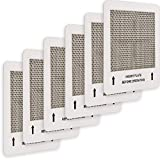 Mammoth Air Original Universal Ceramic Ozone Plates for Mammoth and Other Generic Air Purifier Ozone Generators, 4.5' x 4.5' Inches Replacement Ozone Plates (6)