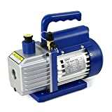 ZENY 4CFM 1/3HP Electric Vacuum Pump Refrigerant R410a R134a HVAC Deep Vane Air Conditioner w/ 1/4' Flare Inlet Port