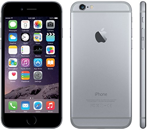 Apple iPhone 6, Virgin Mobile, 64GB - Gray - (Renewed)