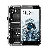 Unlocked Cell Phone, Rugged Smartphone EL W9 16GB/2GB 4G Android 6.0-6.0'HD IP68 IP68 Waterproof& Shockproof& Dustproof Dual SIM Phone - 4000mAh Battery 5MP+8MP(Gray)