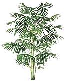 10' Tropical Decorative Artificial Areca Palm Tree