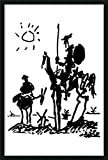 Framed Art Print, 'Don Quixote' by Pablo Picasso: Outer Size 25 x 37'