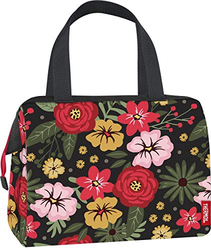 Thermos C519309004 Raya 9 can Duffle, Midnight Garden insulated lunch tote, one size,