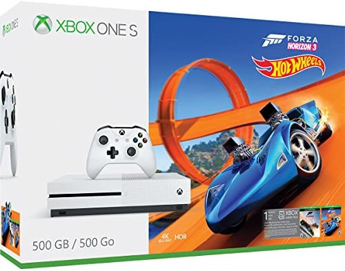 Xbox One S 500GB Console – Forza Horizon 3 Hot Wheels Bundle [Discontinued]
