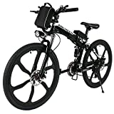 ANCHEER Electric Mountain Bike with 26