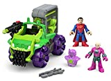 Lex Corp Hauler with Bonus Superman & Lex Luther Fisher-Price Preschool Imaginext DC Super Friends Gift Set