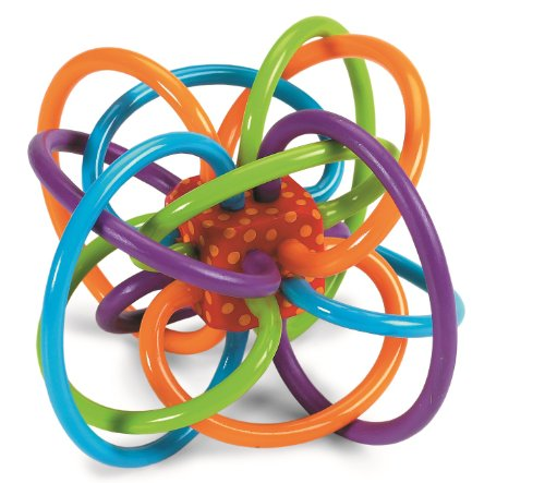 Rattle and Sensory Teether Activity Toy,