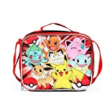 FAB Pokemon Lunch Bag with Adjustable Shoulder Strap - Not Machine Specific