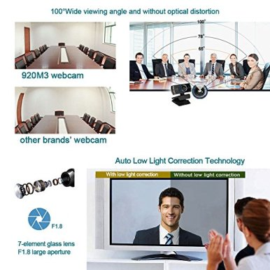 PC-Webcam-1080P-with-Mic-USB-Camera-for-Video-Calling-Recording-Video-ConferenceOnline-TeachingBusiness-Meeting-Compatible-with-Computer-Desktop-Laptop-MacBook-for-Windows-Android-iOS-Linux